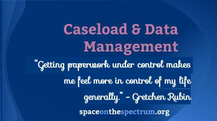 Caseload & Data Management